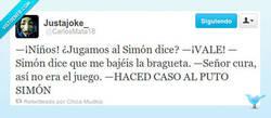 Enlace a ¿Jugamos al Simón Dice? por @CarlosMata18