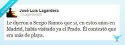 Enlace a Claro que sí, Sergio por @Lagardera22