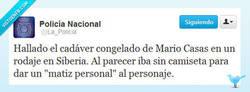 Enlace a Mario Casas y su calidad interpretativa por @La_PoIicia