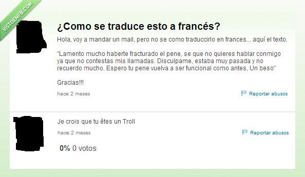 francés,traducir,troll,yahoo respuestas