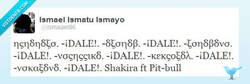 Enlace a Nuevo tema de Shakira ft. Pitbull por @Ismaael96
