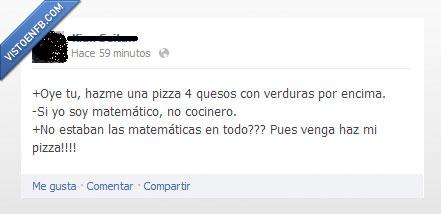 alumno matematicas,cocinar.,cocinero,mates,pizza,profesor