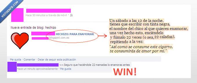 amor,blog,cigarro,facebook,hechizo