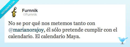 Calendario Mariano.Vef Visto En Las Redes El Calendario De Rajoy Por Furnnik