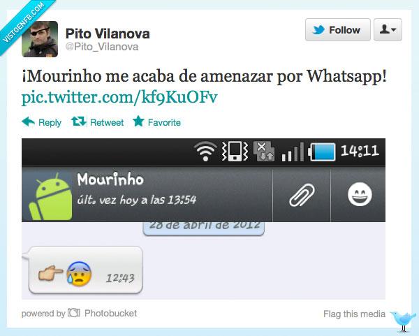 Dedo,Mourinho,Ojo,Pito,Tio Vilanova,whatsapp