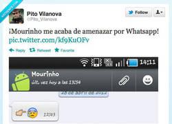 Enlace a La amenaza de Mourinho por @Pito_Vilanova