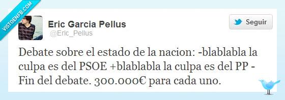 blabla,circo,crisis,debate,españa,estado,nación,pandereta,pp,psoe