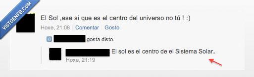 ignorante,sistema solar,sol,universo