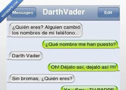 Enlace a ¿Darth Vader, eres tú?