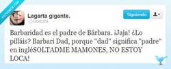 Enlace a El padre de Bárbara por @Godzilia