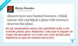Enlace a Restricciones en los aeropuertos por @martyn_bowden