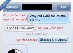 Enlace a El humor negro es como los brazos de Sara