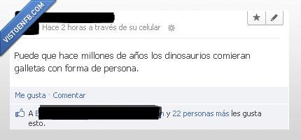 dinosaurios,galletas,persona,quizá