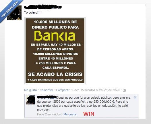 bankia,dividir,recortes