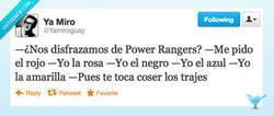 Enlace a ¿Jugamos a los Power Rangers? por @yamiroguay