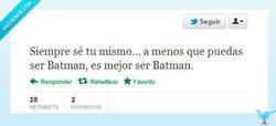 Enlace a Es mejor ser Batman por @Xiringuitou