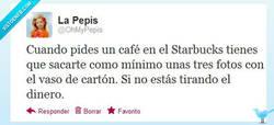 Enlace a Amortizar el café del Starbucks por @OhMyPepis