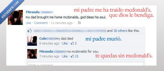 mcdonalds,morir,muerto,padre,tumblr,win