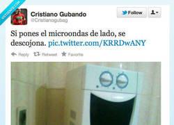 Enlace a Mi microondas intenta decirme algo por @Cristianogubag