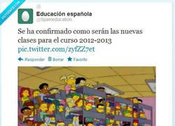 Enlace a Educación española por @Spaineducation