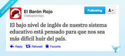Enlace a I wanna abandonate this pais, pero no can't por @elbaronrojo