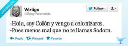 Enlace a Cristobal Colón, el sodomita por @SexyParanoids
