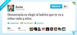 Enlace a Democracia en España por @DrZurdo