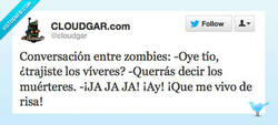 Enlace a El humor zombie es muy refinado por @cloudgar