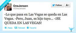 Enlace a Lo que pasa en las Vegas por @OneJensen