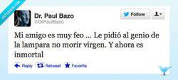 Enlace a Mi amigo es muy feo por @DrPaulBazo
