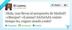 Enlace a El Luisma y el Barajas por @LuisMaconM