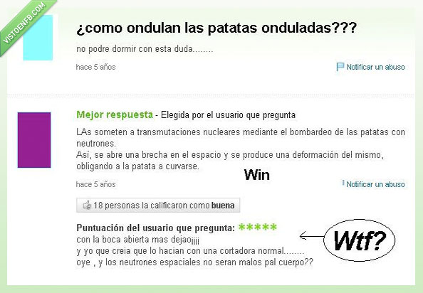 Onduladas,Patatas,pregunta,Yahoo