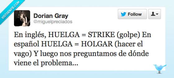 dorian,español,golpe,gray,holgar,huelga,ingles,strike,traduccion