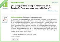 Enlace a ¿Estará Hitler en el cielo?