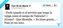 Enlace a Vejigas y Valencia @mariaAlways1D