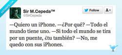 Enlace a Quiero un iPhone por @SirCepeda
