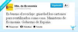 Enlace a El cartón tiene múltiples vidas por @Minis.Economía