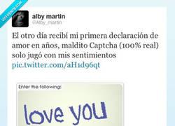 Enlace a Declaración de un Captcha por @Alby_martin