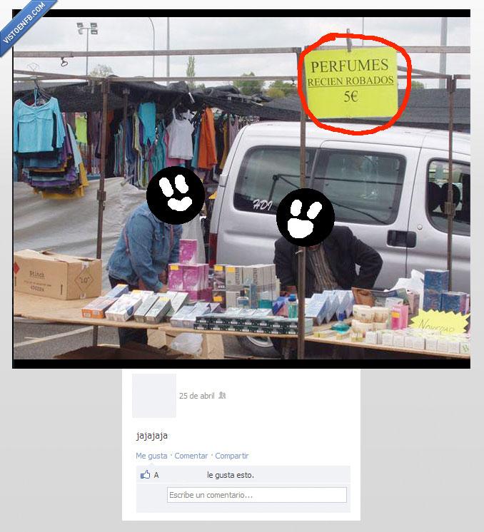 colonia,facebook,mercadillo,perfumes,recien,robado
