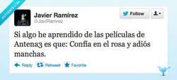 Enlace a Lo que se aprende en Antena3 por @JaviRamrez