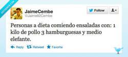 Enlace a Una ensalada, que estoy a dieta por @Jaime92Cembe