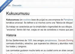Enlace a Así define la wikipedia a @kukuxumusu