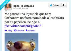 Enlace a Sara en el papel de su carrera por @Chabeli_katolik