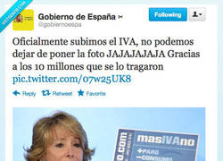 Enlace a ¡Cómo nos la colaste, Espe! por @gobiernoespa