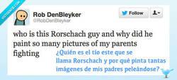 Enlace a Rorschach, el sádico por @RobDenBleyker