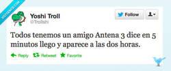 Enlace a Un amigo Antena 3 by @Trollshi