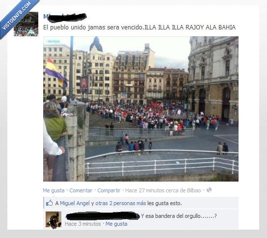bandera,fail,manifestación,rajoy,republica