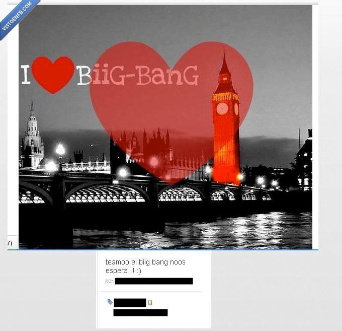 amor,big bang,big ben,londres,rio,tontos,vacaciones