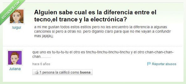 chundachunda,diferencias,musica electronica,tecno,trance