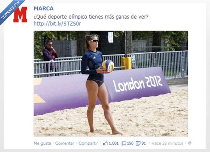 chica,JJOO,juegos,Marca,olimpiadas,olimpicos,valleyball,voleibol